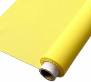 305, 350, 380 Yellow Silk Mesh Screen Fabric Screen Printing Mesh 32 Inch Width