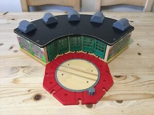 Thomas And Friends Wooden Railway - TIDMOUTH SHEDS For Wooden Train Sets