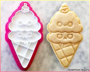 Ice Cream Cookie Cutter Cute Food Dessert Biscuit Baking Supplies Fondant Tool