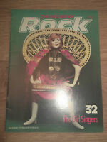 """THE HISTORY OF ROCK MAGAZINE ISSUE 32 - CILLA BLACK COVER """" THE GIRL SINGERS"""