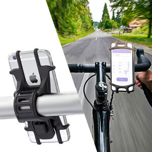 Bicycle Motorcycle MTB Bike Handlebar Phone Mount Holder GPS For iPhone Samsung