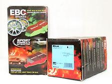 EBC Bluestuff Race/Track Brake Pads (Front & Rear Set) Dodge Ferrari Lamborghini