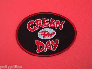 GREEN DAY DRAGON LOGO USA PUNK ROCK SEW/IRON ON PATCH