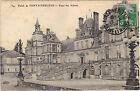 77 - cpa - Palais de Fontainebleau - La cour des Adieux