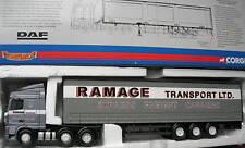 CORGI MODERN 1/50  DAF XF space cab express freight !!!