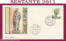 ITALIA FDC ROMA SAN GIORGIO 1969  ANNULLO  AVELLINO G184