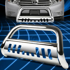Chrome Front Bumper Bull Bar Grille Guard for 2008-2013 Toyota Highlander XU40