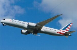 AIRCRAFT PHOTO CIVIL PLANE PICTURE AMERICAN AIRLINE BOEING 787 PHOTOGRAPH N821AN