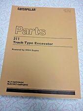 CAT 311 Track-Type Excavator parts manual