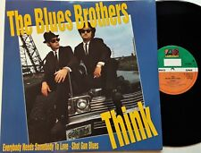 "The Blues Brothers - Think 12"" Single 1990 UK Reissue Atlantic A 7951 T Vinyl EX"