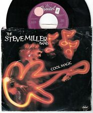 1982 STEVE MILLER BAND COOL MAGIC & YOUNG GIRL'S HEART 45 & PICTURE SLEEVE VG+