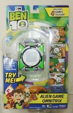 BEN 10 DELUXE OMNITRIX WATCH ALIEN GAME LCD SCREEN 4 GAMES TO PLAY HARD TO FIND