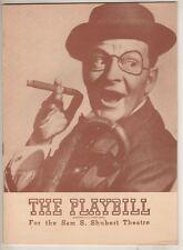 "Bobby Clark   ""Sweethearts""   Playbill  1947  Shubert Theatre   Victor Herbert"