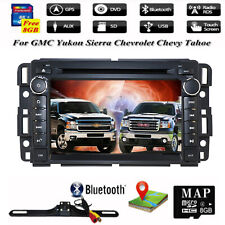 For GMC Yukon Chevy Silverado Sierra GPS Car dvd player Radio Stereo Bluetooth