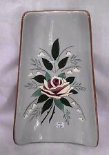 """Stangl 'Bella Rosa' Relish Tray, 11 1/4"""" long Relish Tray"""