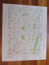 Rushville New York 1953 Original Vintage USGS Topo Map