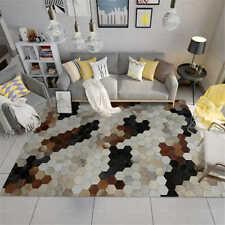 Geometric Carpet Super Flannel Point Plastic Anti-slip Area Rug Thick Decor Rug