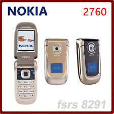 Nokia Original 2760 Mobile Phone 2G GSM Unlocked Cheap Old fold phone cell phone