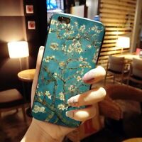 Vincent van Gogh Almond Blossoms Case iPhone 5 6 6S 7 8 + X XS XR XS MAX