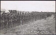 Wiltshire PH 1908 London Regiment Artillery Range Larkhill Camp