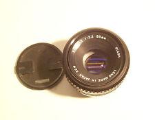 Ricoh Riconar 1:2,2 55 mm  Pentax K Anschluß