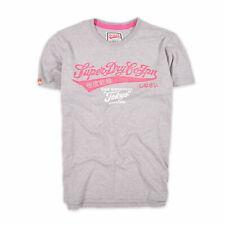 Superdry Herren T-Shirt Shirt Classic Gr.Xl (wie L) Tokyo Brand Grau 90903