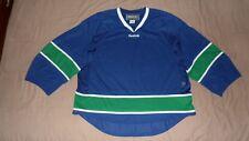 Vancouver Canucks Blue #72 Reebok Men's Size Goalie Cut NHL Hockey Jersey