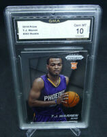 2014-15 Panini Prizm T.J. Warren Rookie Card #263 GMA Graded Gem Mint 10 HOTTT