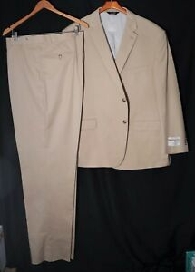NWT-New_JOS A BANK Exec Collection Suit_Tropical Blend_Size 52R_Pant 47xUnhemmed