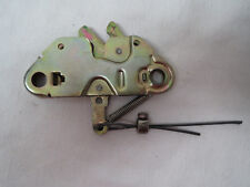 Alfa Romeo 1983-94 Spider TRUNK LATCH deck lid boot catch safe EXCELLENT PLATING