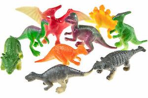 12 x Dinosaurier 4,5 - 6 cm Größe Dino Figuren verschieden sortiert Mitgebsel