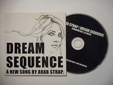 ARAB STRAP : DREAM SEQUENCE ♦ CD SINGLE PORT GRATUIT ♦