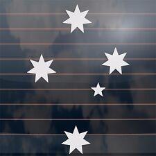 Aussie Southern Cross Stars Car Sticker BIG A4 320mm