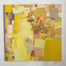 """FOUGERAND.LAURENT _ huile sur toile 26/04/20 """" Par ici et par là """" 80 x 80 cm"""