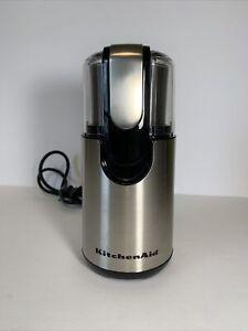 KitchenAid Coffee Grinder, Stainless Steel