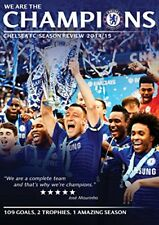 We Are The Champions - Chelsea FC Season Review 2014 / 2015 NEW SEALED UK R2 DVD