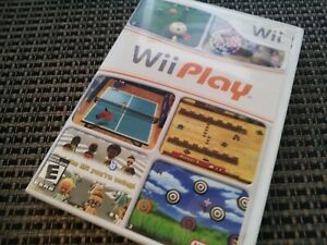 Wii Play Sports Games (Nintendo Wii Video Game) Complete TESTED & WORKS