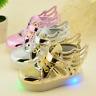 LED Light Girls Boys Breathable Kids Sport Shoes Children Running Mesh Sneakers