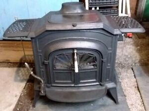Vermont Castings RESOLUTE w/ Coal Conversion Kit: Glass Doors & ALL the Extras!