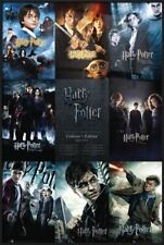 """Harry Potter 1-8 - Framed Movie Poster (All Movie Posters Grid) (Size: 24 X 36"""")"""
