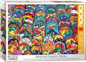 EG60005421 - Eurographics Puzzle 1000 Pc - Mexican Ceramic Plates