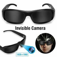 1080P Mini HD Video Kamera Brille Spion Sonnenbrille Sportlich Spycam Spy Brille