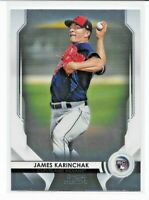 2020 Bowman Sterling JAMES KARINCHAK Chrome ROOKIE #BSR-61 Indians RC HOT!!!