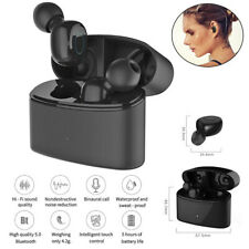 True Wireless Mini Earphones Bluetooth 5.0 Stereo Earbuds for Samsung iPhone HTC