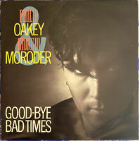 "Philip Oakey And Giorgio Moroder ‎– Goodbye Bad Times 1985 12"" Single UK Import"