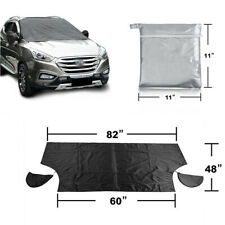 Auto Car Windshield Mirror Protector Snow Cover With Magnetic Edges for Winter