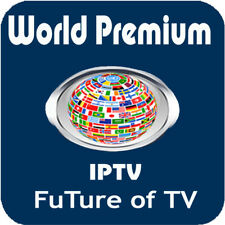 IPTV Subscription 1 Month SAMSUNG&LG SmartTV FIRESTICK MAG 250 254 256 M3u VLC