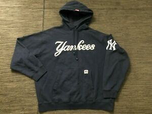 Stitches Adult Mens XL New York Yankees Pullover Hoodie