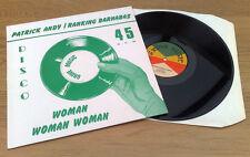 "Patrick Andy ""Woman femme woman"" qui EX STOCK COPY UK 12"" Grove Music"