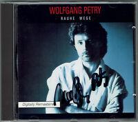 Wolfgang Petry - Rauhe Wege - 1996 - CD - mit original handsigniertem Booklett